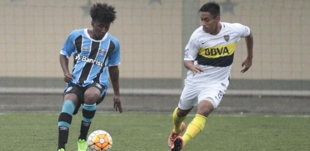 Grêmio sub-19 enfrentou o Boca em recente excursão pela Argentina