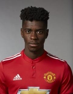 Axel Tuanzebe, zagueiro do Manchester United