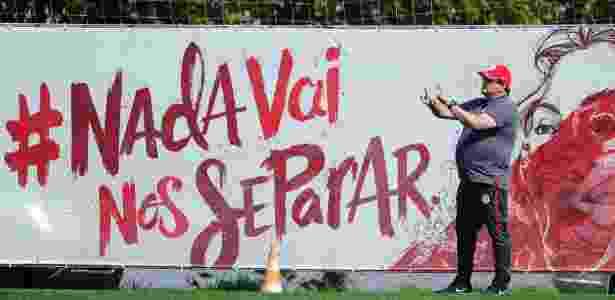 Guto Ferreira não quer que tranquilidade por boa fase atrapalhe os jogadores - Ricardo Duarte/Inter