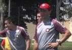 Fernando Diniz minimiza lesões no Atlético-PR e defende modelo de treinos - Reprodução TV CAP
