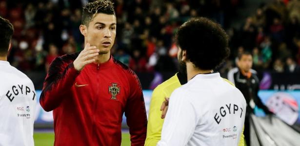 Craques duelaram três vezes, sendo a última no amistoso entre Portugal e Egito
