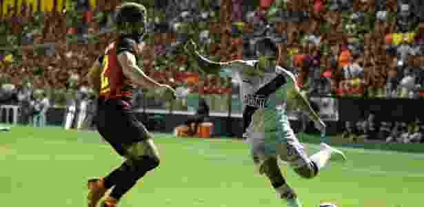 Ramon, lateral do Vasco, durante jogo contra o Sport - Carlos Gregório Jr/Vasco.com.br - Carlos Gregório Jr/Vasco.com.br