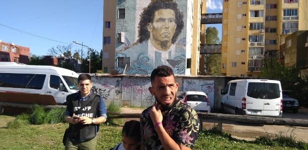 "Tevez é o ídolo máximo do ""Forte Apache"", bairro pobre onde nasceu e cresceu - Alejandro del Bosco/Torneos"