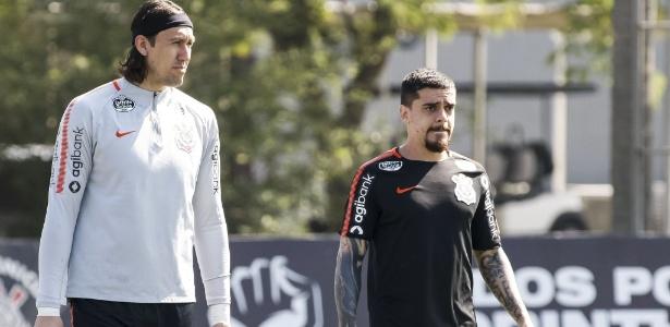 Cássio e Fagner ampliaram ainda mais o contrato com o Corinthians - Rodrigo Gazzanel/Agência Corinthians