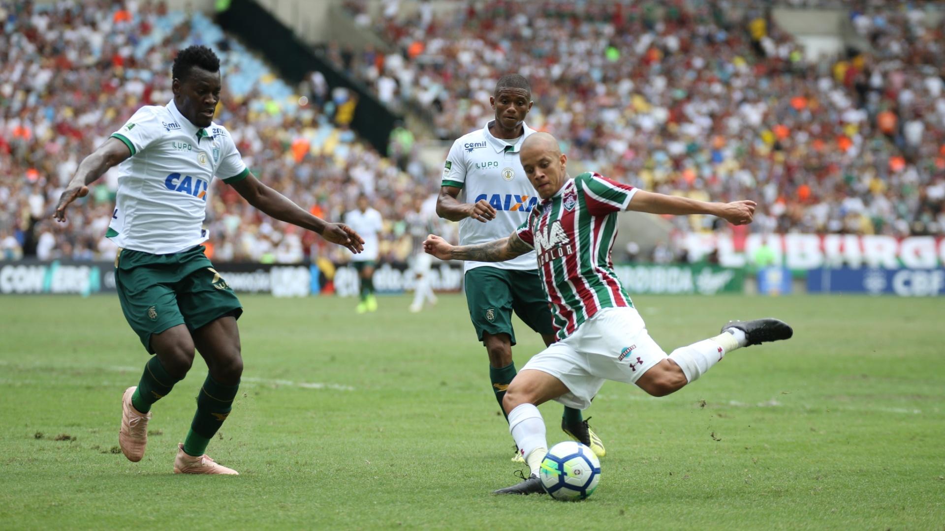 Fluminense encara o América-MG pela 38ª rodada do Campeonato Brasileiro no  Maracanã 4f956c745952e