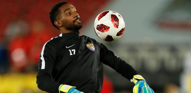 Khalid Eisa, goleiro do Al Ain, vem sendo um dos destaques do Mundial de Clubes - Andrew Boyers/Reuters