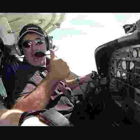 Dave Ibbotson, piloto do avião que desapareceu com Emiliano Sala a bordo - Reprodução/Facebook