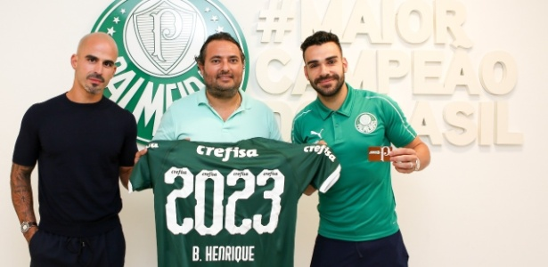 Bruno Henrique foi o último titular que o Verdão conseguiu segurar no elenco - Fabio Menotti/Ag. Palmeiras/Divulgação