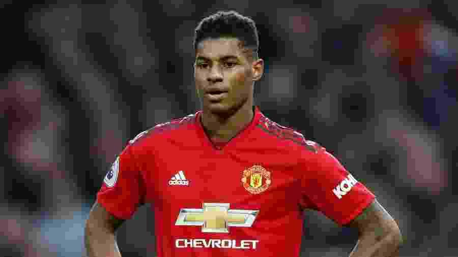 Marcus Rashford, jogador do Manchester United - Carl Recine/Reuters