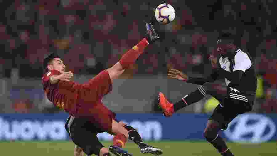 Roma bate a Juventus por 1 a 0 em casa - REUTERS/Alberto Lingria