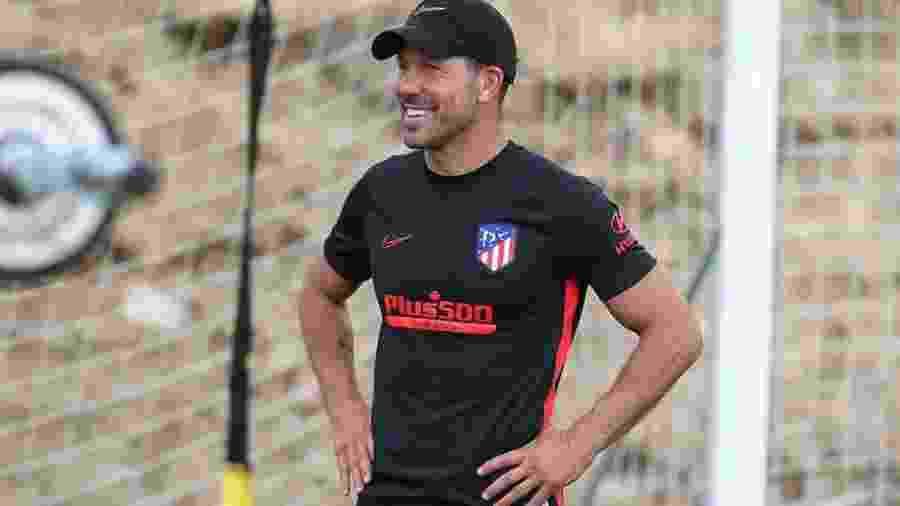 Simeone tem contrato com o Atlético de Madri até 2022 - Ángel Gutiérrez/Atlético de Madri
