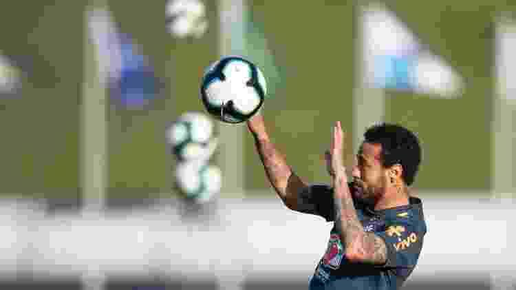 Neymar em treino da seleção - Lucas Figueiredo/CBF - Lucas Figueiredo/CBF