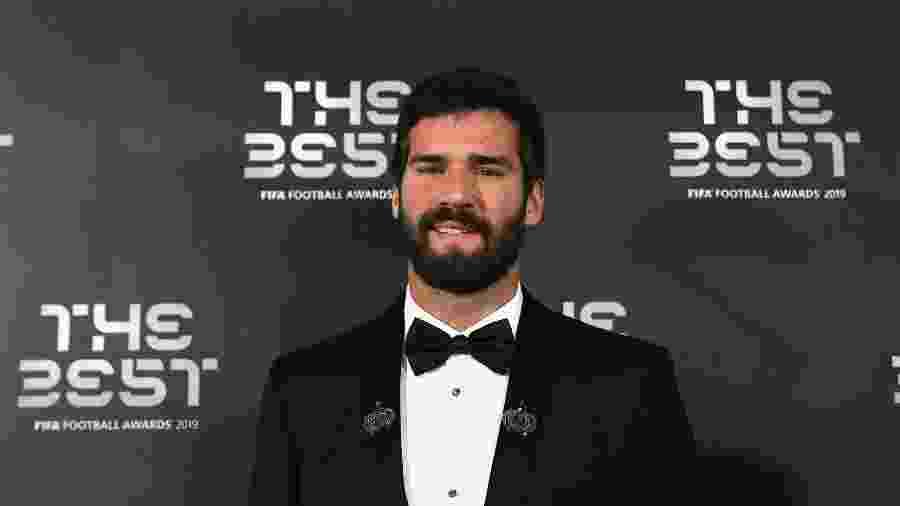 Alisson foi um dos indicados ao prêmio de melhor goleiro da Fifa - Claudio Villa/Getty Images