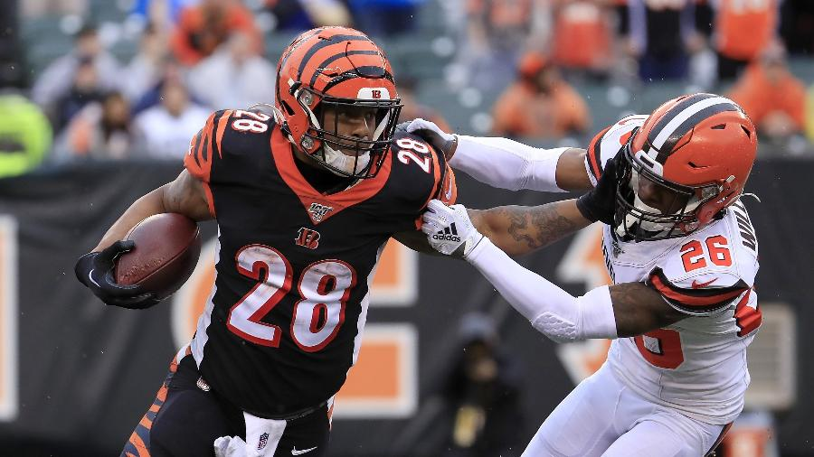 Partida entre Cincinnati Bengals e Cleveland Browns, pela NFL - Andy Lyons/Getty Images/AFP