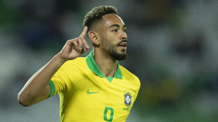 Matheus Cunha é titular da seleção brasileira da temporada montada por robôs - Lucas Figueiredo/CBF