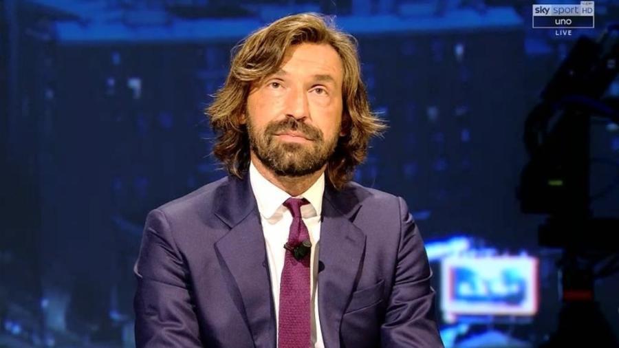 Andrea Pirlo, ex-jogador italiano que vai assumir elenco sub-23 da Juventus - Reprodução