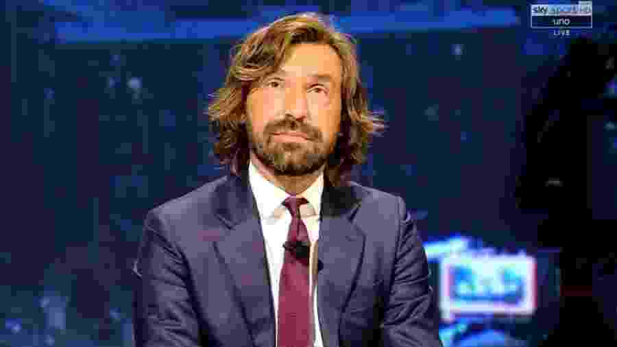 Andrea Pirlo, atual técnico da Juventus - Reprodução