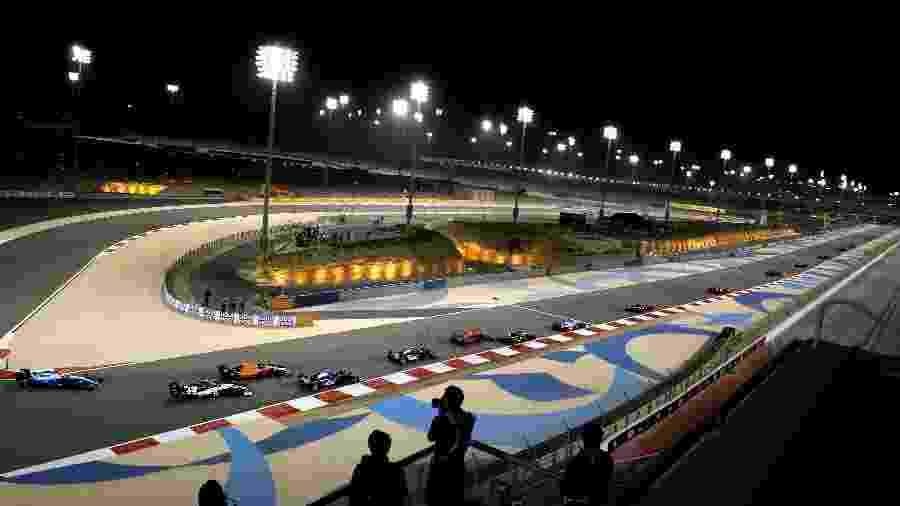 GP do Bahrein de 2019, no circuito de Sakhir - ANDREJ ISAKOVIC/AFP
