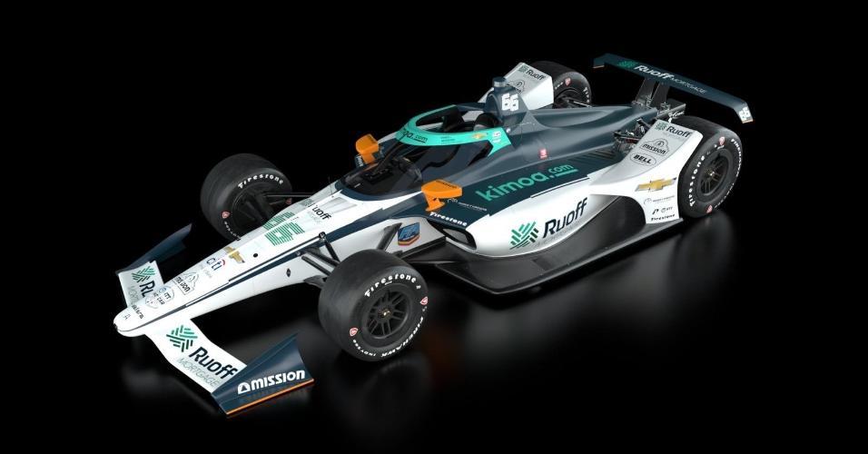 Fernando Alonso e a equipe Arrow McLaren apresentam carro para a disputa das 500 Milhas de Indianápolis de 2020; prova será realizada em 23 de agosto