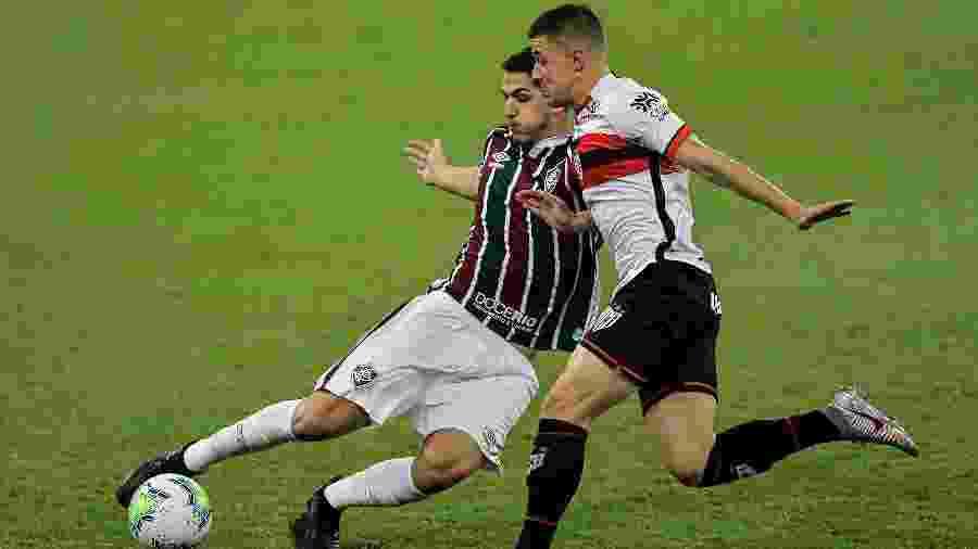 Fluminense e Atlético-GO se enfrentam pela quarta fase da Copa do Brasil - Thiago Ribeiro/AGIF