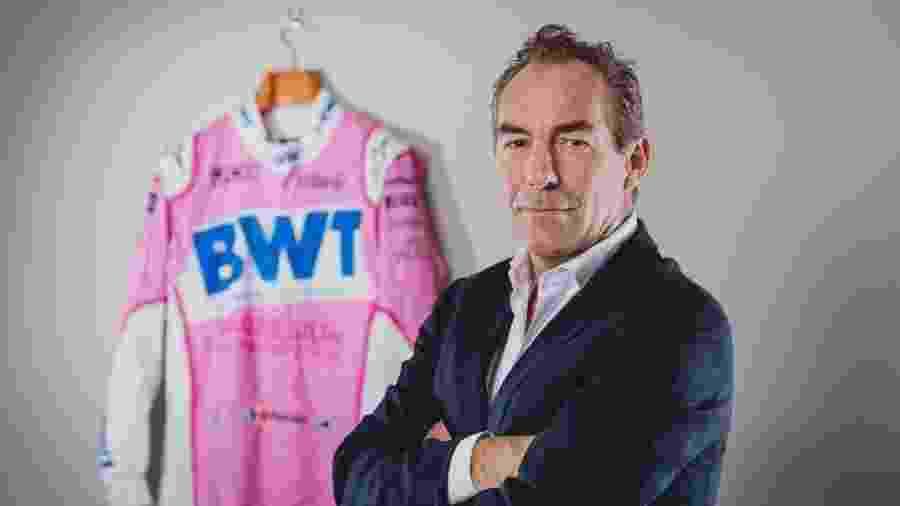 Jefferson Slack é o novo diretor comercial da Racing Point - Divulgação/Racing Point