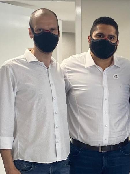 Bruno Covas e Thiago Milhim - Divulgação
