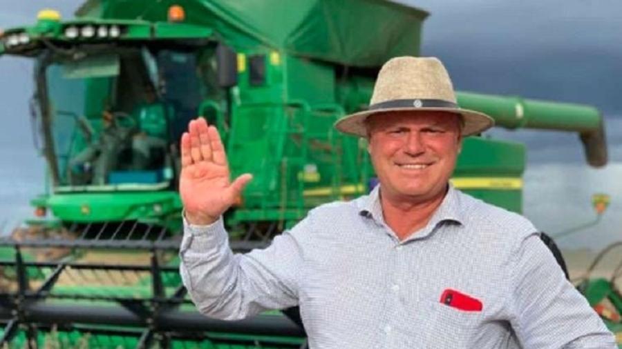 Elusmar Maggi Scheffer, empresário que fez doação ao Inter na semana passada - Divulgação