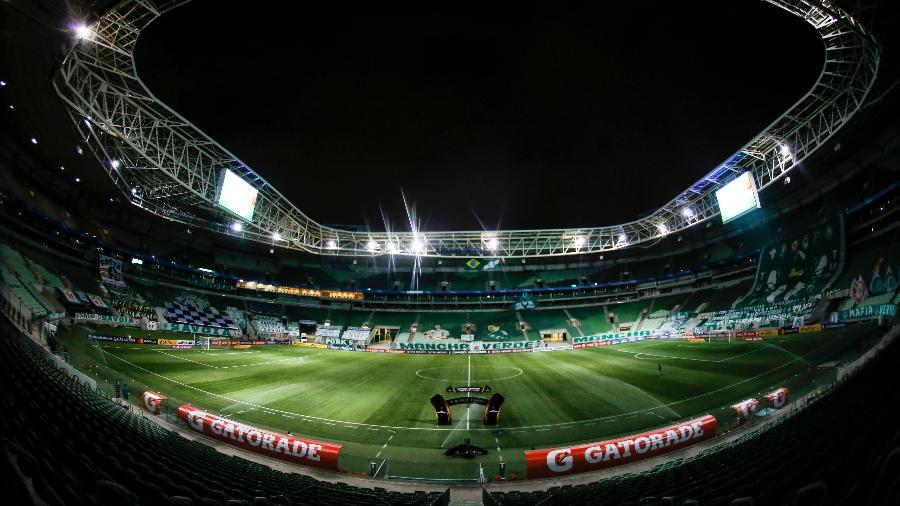 Allianz Parque, antes de partida do Palmeiras - Divulgação/Conmebol