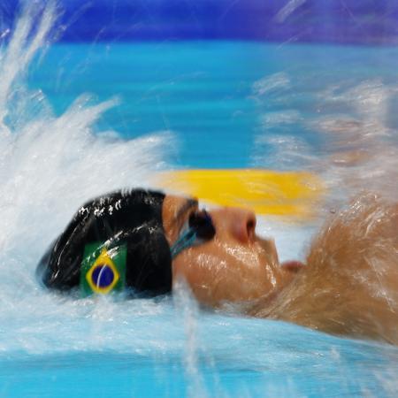 Vinicius Lanza em ação nas Olimpíadas de Tóquio - Kai Pfaffenbach/Reuters