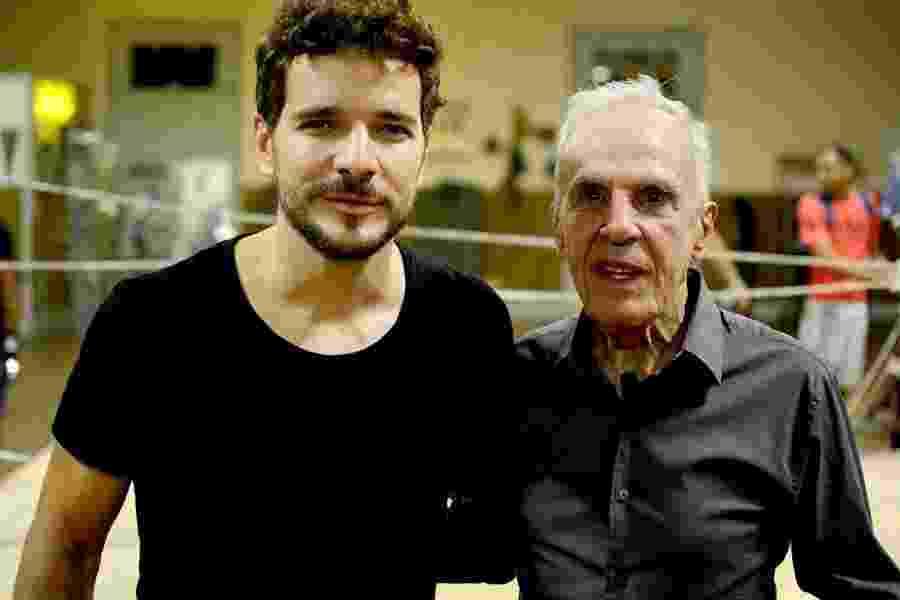 Eder Jofre ganhou um ator de peso para contar sua história no cinema: Daniel de Oliveira - famoso por papéis com o de Cazuza nas telonas - foi escalado - José Guertzenstein/Divulgação