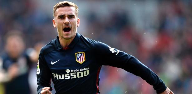 Griezmann está em alta no mercado europeu após boa temporada pelo Atlético