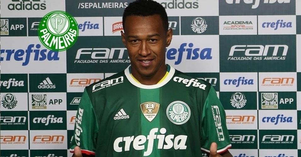 Montagem - Fabrício (lateral) - Do Cruzeiro para o Palmeiras