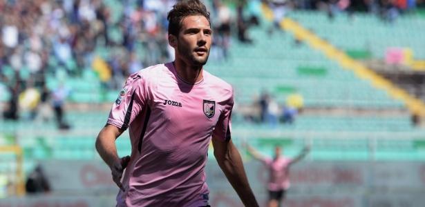 Franco Vázquez em ação pelo Palermo