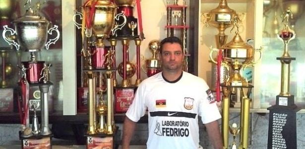 Marcelo De Quadros Kunst é auxiliar técnico de goleiro da Chapecoense