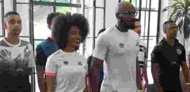 Santos divulga novo uniforme para 2017 - Reprodução/Twitter