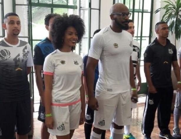 Santos divulga novo uniforme para 2017