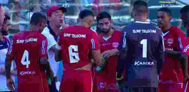 Técnico Fernando Diniz se revolta com time do Audax após gol do São Paulo - Reprodução - Reprodução
