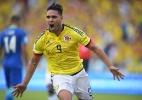 Após gol contra o Brasil, Falcao agradece apoio nas redes sociais - Raul Arboleda/AFP
