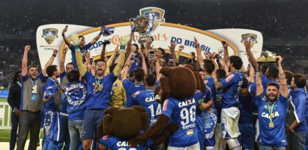 Cruzeiro foi campeão da Copa do Brasil de 2017