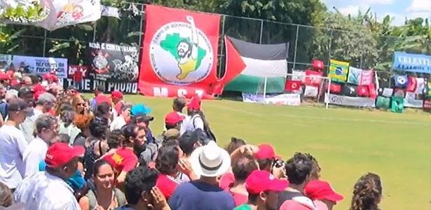Inauguração de campo em homenagem a Sócrates, em Guararema (SP)
