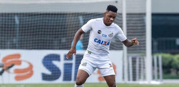 Matheus Jesus disputou 14 jogos pelo Santos. Foram dez em 2017 e quatro neste ano