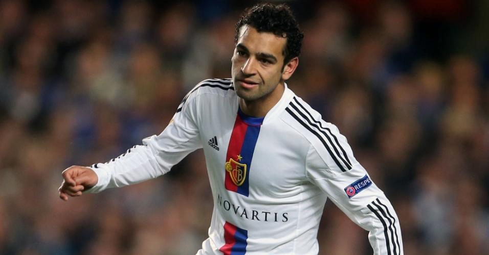 O Basel, da Suíça, foi o primeiro time de Mohamed Salah na Europa. O atacante chegou ao clube em 2012
