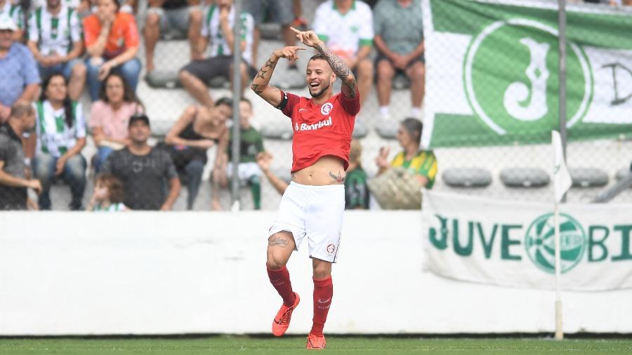 Nico López se destacou pelo Inter na partida contra o Juventude em Caxias - Ricardo Duarte/Inter