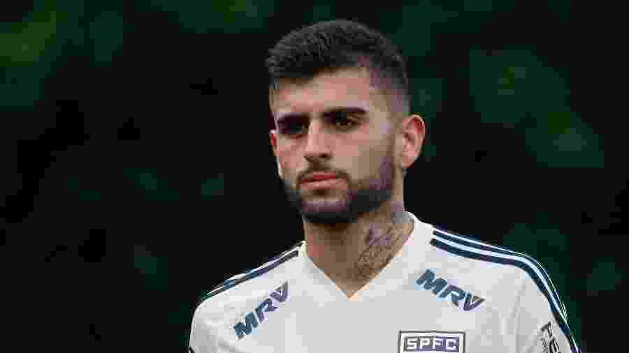 Volante Liziero é um dos jogadores citados pelo clube Pequeninos do Jockey em ação judicial - Marcello Zambrana/AGIF