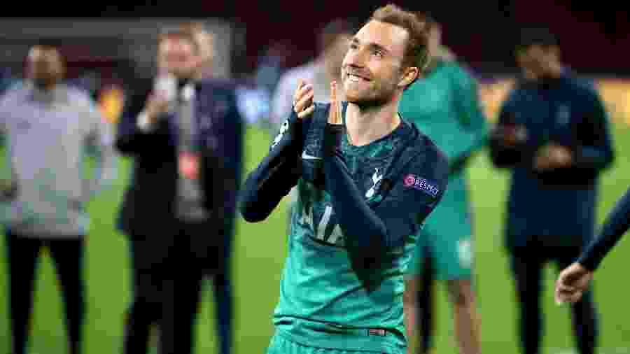 Christian Eriksen tem contrato com o Tottenham até junho de 2020 - Bradley Collyer/EMPICS/PA Images via Getty Images