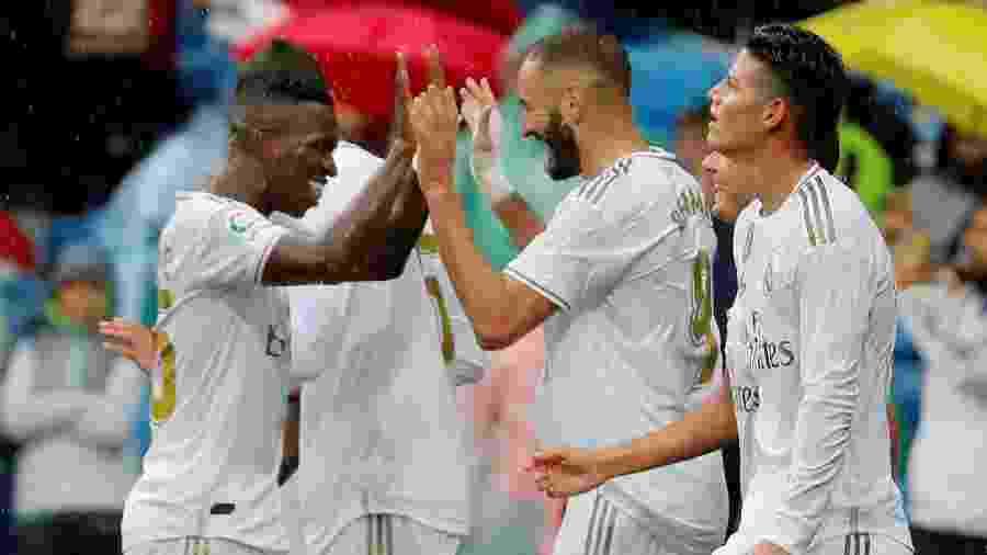 Real Madrid tenta se recuperar no Espanhol após derrota na Liga dos Campeões - SUSANA VERA / REUTERS