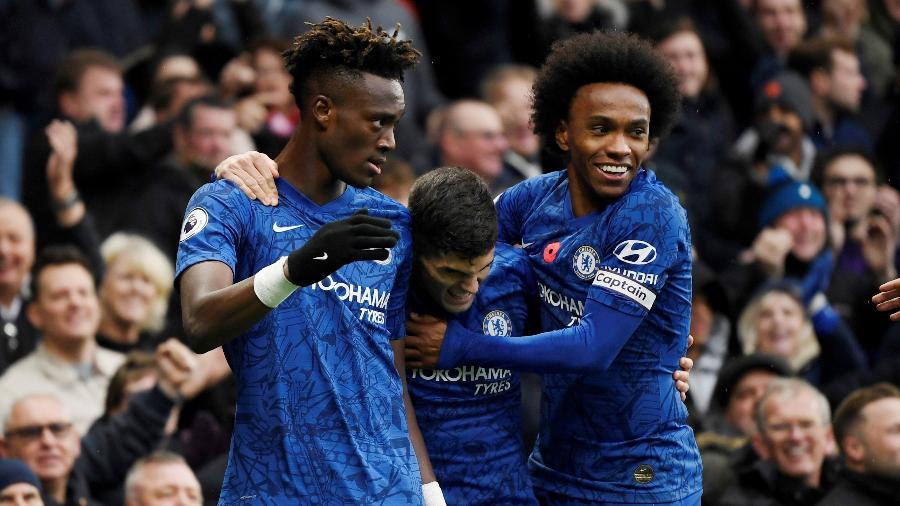 """Chelsea e torcedores fizeram doação para combate a violência doméstica - Tony O""""Brien/Action Images via Reuters"""