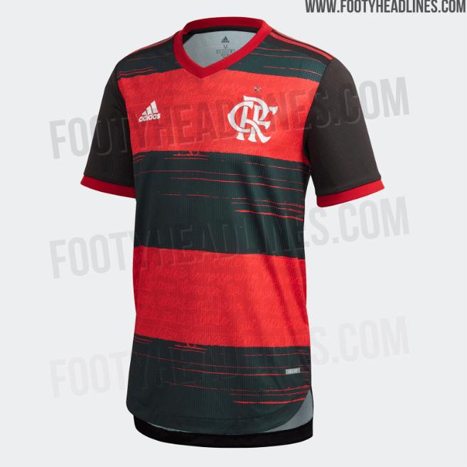 Camisa titular do Flamengo para a temporada 2020