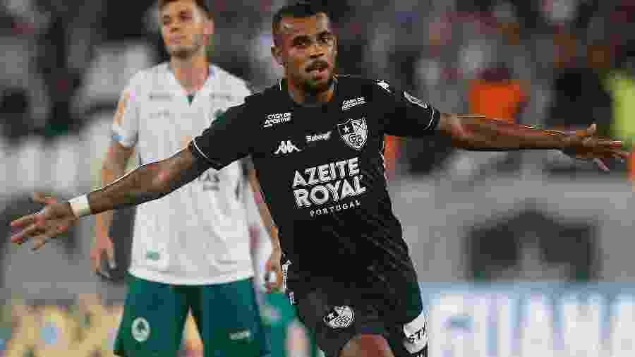 Alex Santana, do Botafogo, comemora gol diante do Boavista no campoenato Carioca - Divulgação/Botafogo F.R.
