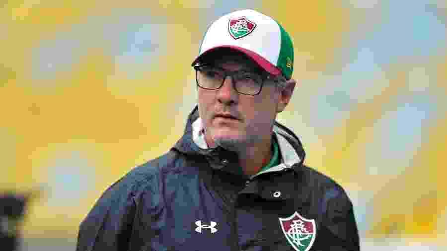 Odair Hellmann ficará no Fluminense ao menos até o Campeonato Brasileiro - Thiago Ribeiro/AGIF